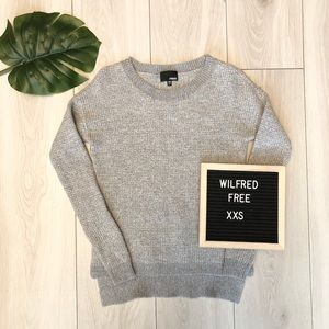 Wilfred Free Wolter Sweater XXS in Grey